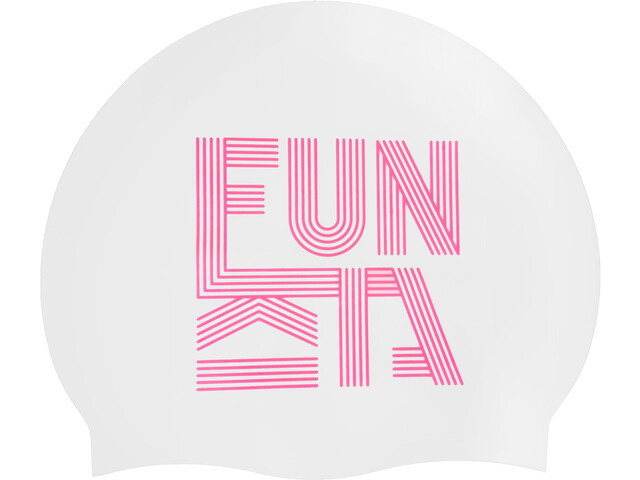 Funkita Silicone Swimming Cap, lined up